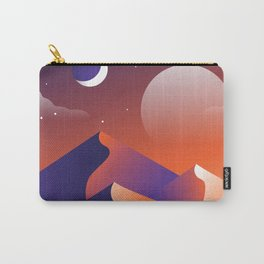 Jewel Desert Evening Carry-All Pouch