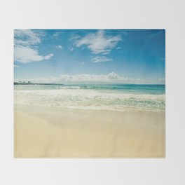 Kapalua Beach Honokahua Maui Hawaii Throw Blanket