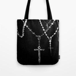 black. Tote Bag