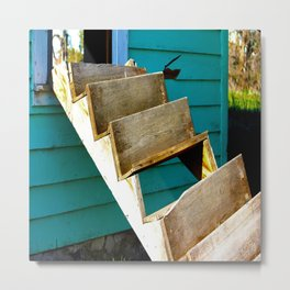 The Murder Shack Metal Print