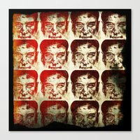 yankees Canvas Prints featuring Iron man by 6-4-3