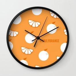 @DailyOrange Wall Clock