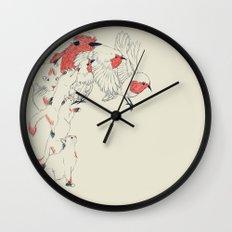 Non Wind-Up Robin Wall Clock
