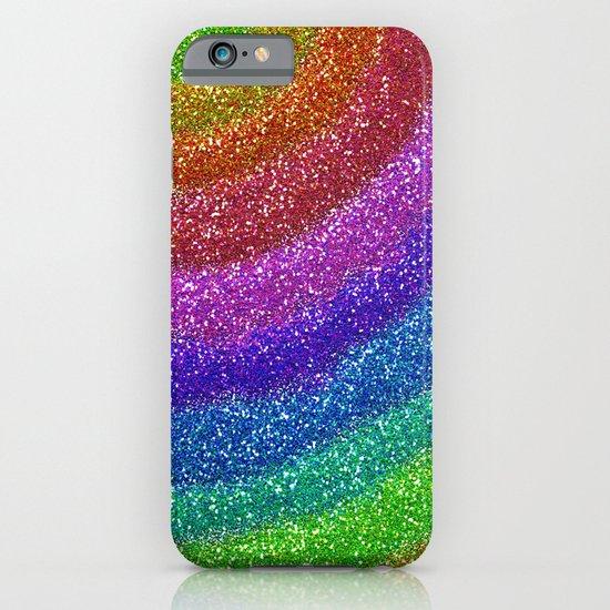 Rainbow Glitters iPhone & iPod Case
