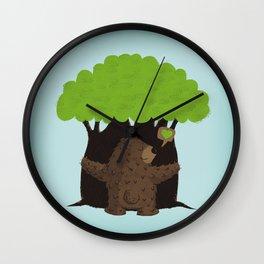 LOVE TREES Wall Clock