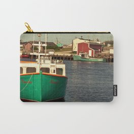 Boat at Dock Carry-All Pouch