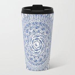 Paisley Moon Henna Mandala Travel Mug