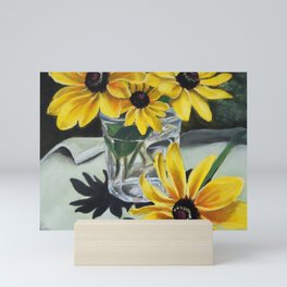 Sunflowers in the Sun Mini Art Print