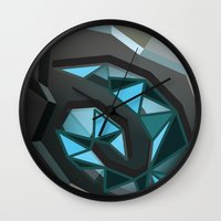 warcraft Wall Clocks featuring Home is where the hearth is. by pixel.pwn | AK
