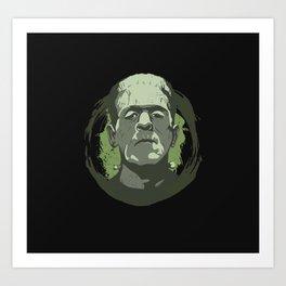 Horror Monster | Frankenstein Art Print