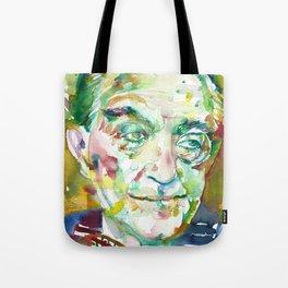FRITZ LANG - watercolor portrait.1 Tote Bag