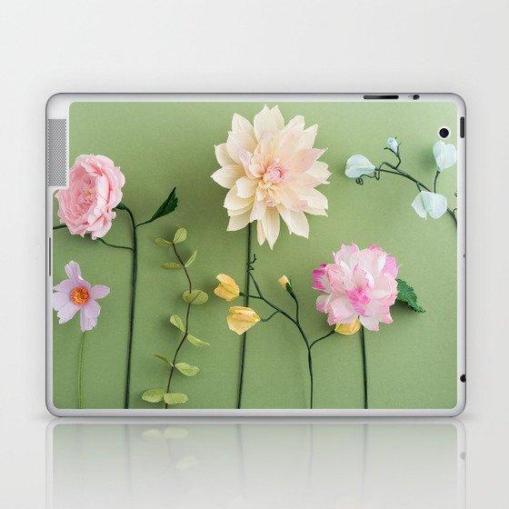 Crepe paper flowers laptop ipad skin by coelfen society6 crepe paper flowers laptop ipad skin mightylinksfo