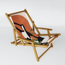 Abstract Female Figure 20 Sling Chair