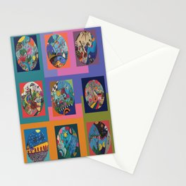 Life colors Stationery Cards