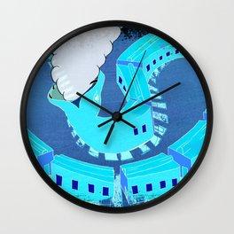 SNAKES OF IRON Wall Clock