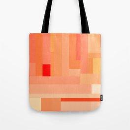 Tangerine Gradient Tote Bag