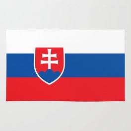 Slovakian Flag - High Quality Image Rug