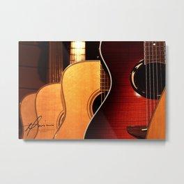 Guitars Metal Print