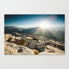 Half Dome Sunrise Canvas Print