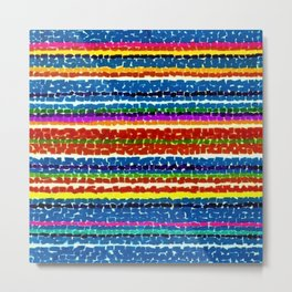 African American Masterpiece 'Light Blue Nursery No. 2'' by Alma Thomas Art Print Metal Print