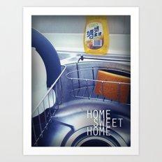 HOME SWEET HOME SERIES - Sink Art Print