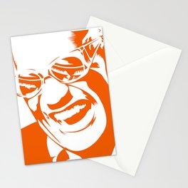 Ray Charles – Orange Stationery Cards