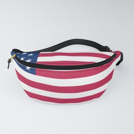 Flag of USA - American flag, flag of america, america, the stars and stripes,us, united states Fanny Pack