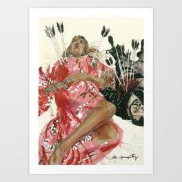 Día de Muertos Art Print