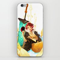 transistor iPhone & iPod Skins featuring See You in the Country - Transistor by Stephanie Kao