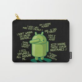 PARANOID ANDROID Carry-All Pouch