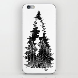 Forest Night iPhone Skin