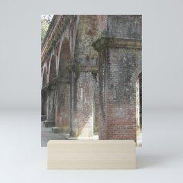 Old World Brick Aqueduct Mini Art Print
