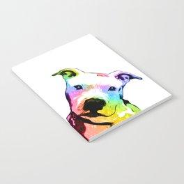 Pit bull   Rainbow Series   Pop Art Notebook