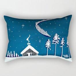5 Billion stars Rectangular Pillow