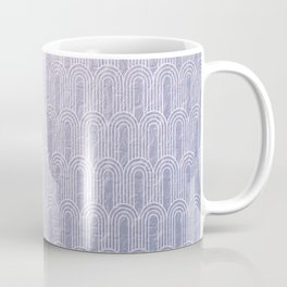Art Deco, lavender,pattern,vintage,beautiful,chic,elegant,art nouveau, Belle Epoque,modern,trendy,for her,metallic Coffee Mug