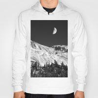 yosemite Hoodies featuring Yosemite by Claude Gariepy