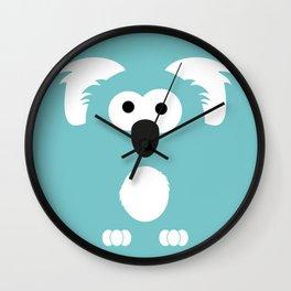 Minimal Koala Wall Clock