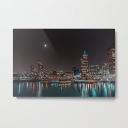 Vancouver City Metal Print