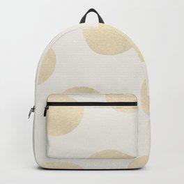 Gold Polka Dots Backpack