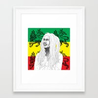 marley Framed Art Prints featuring MARLEY  by Kayser152