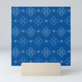 Pattern 0021 Mini Art Print