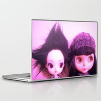 doll Laptop & iPad Skins featuring doll by helendeer