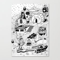EL TANQUE CARCEDO Canvas Print