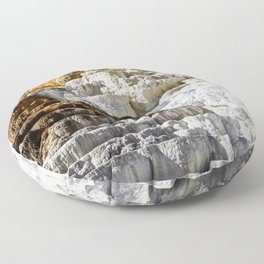 Yellowstone Salt Flat Floor Pillow