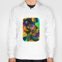 kandinsky Hoodies featuring Child's Play by Klara Acel
