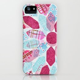 Patchwork-Collage Love iPhone Case
