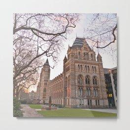 Natural History Museum, London Metal Print