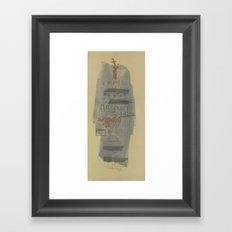 CRASS// Framed Art Print