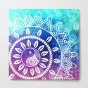 Divine Dream Pink Purple Blue Mandala by inspiredimages