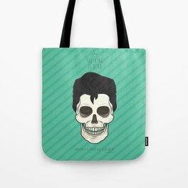 The King is dead Tote Bag